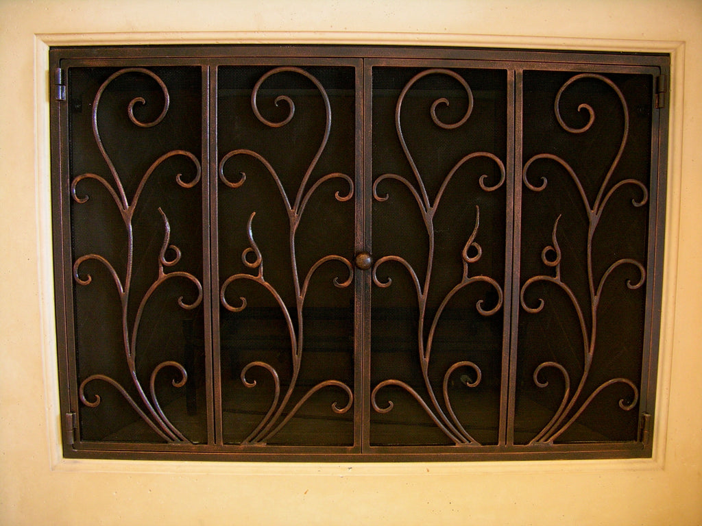 Reja  Fireplace Screen Door