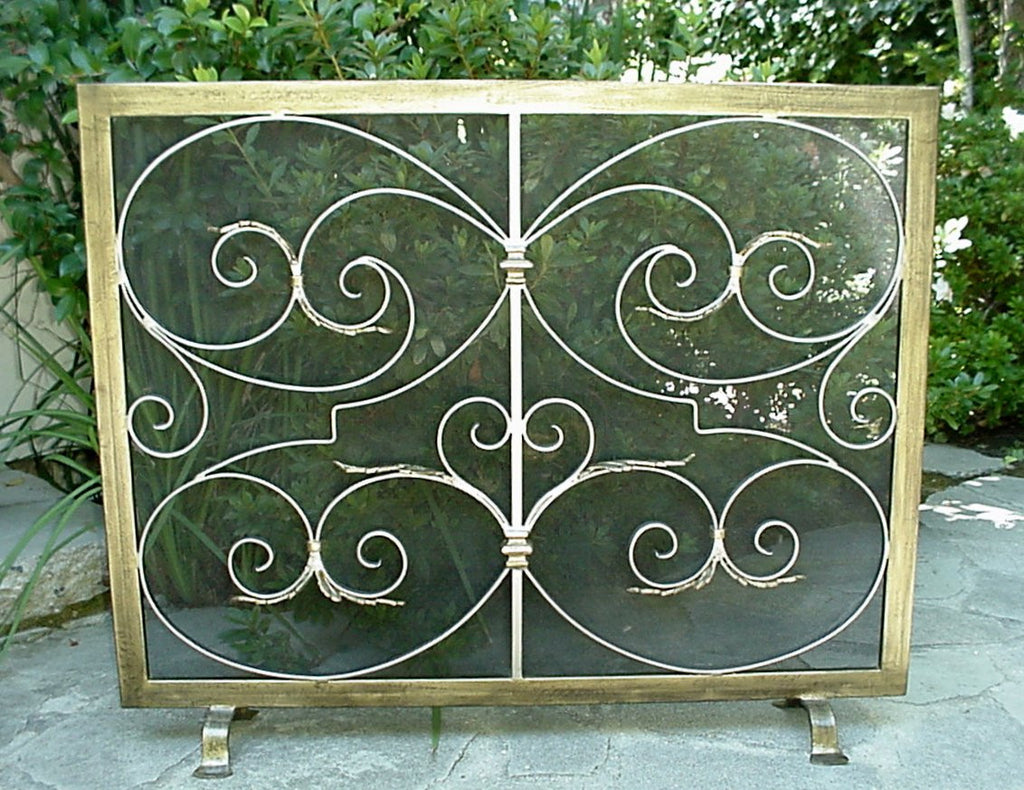 Freestanding Donatella  Fireplace Screen