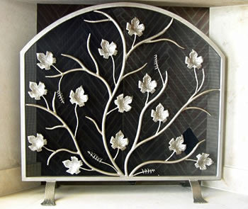 April Showers Freestanding Fireplace Screen