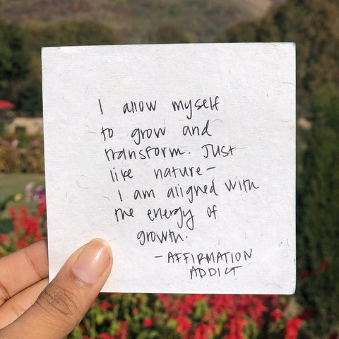 Image result for writing down words of affirmations