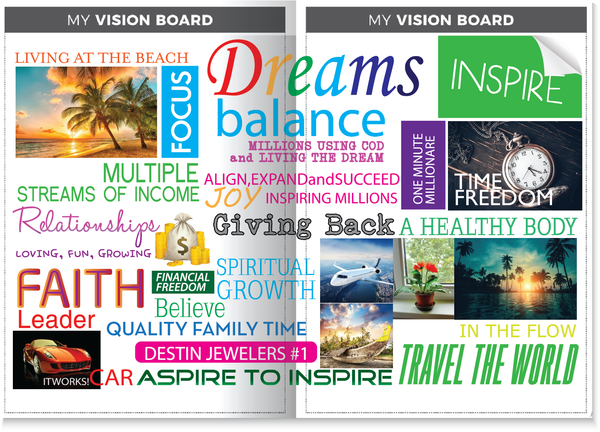 your personal vision board