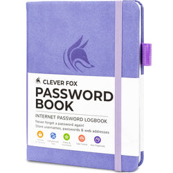 Password Book (Pocket Size), Lavender