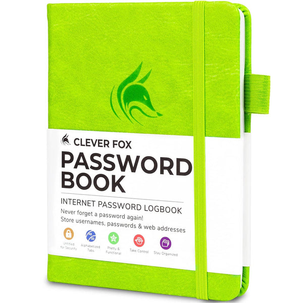 Password Book (Pocket Size), Green