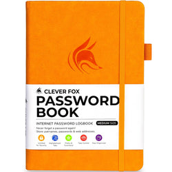 Password Book (Medium Size), Yellow