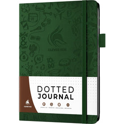 Dotted Journal 2.0, Forest Green