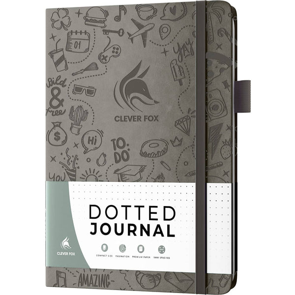 Dotted Journal 2.0, Gray
