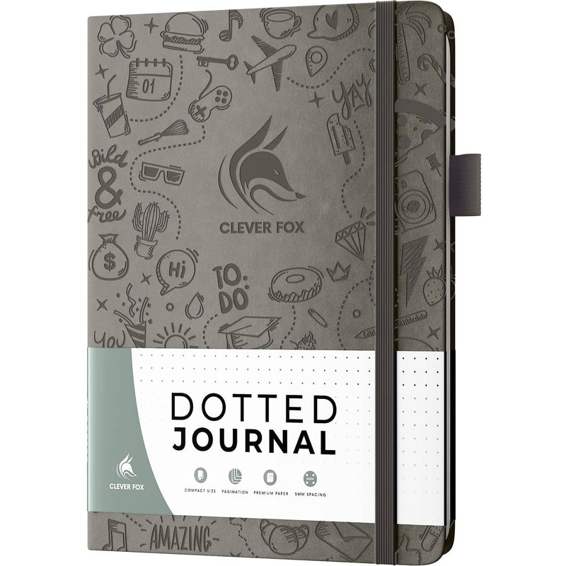 Dotted Journal 2.0, Grey
