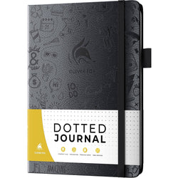 Dotted Journal 2.0, Silver Black