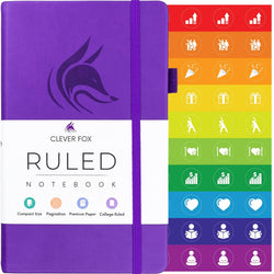College Ruled Notebook / Journal, Purple