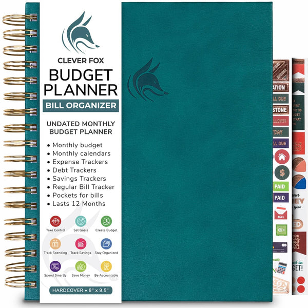 Bill Organizer, Dark Teal