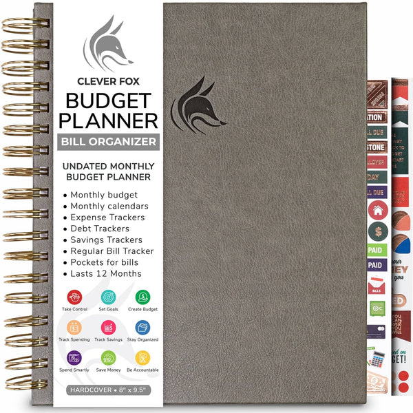 Bill Organizer, Grey