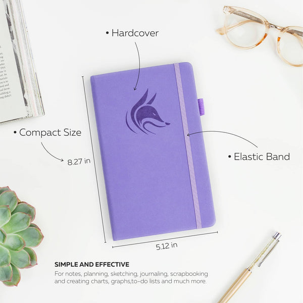 College Ruled Notebook / Journal, Lavender