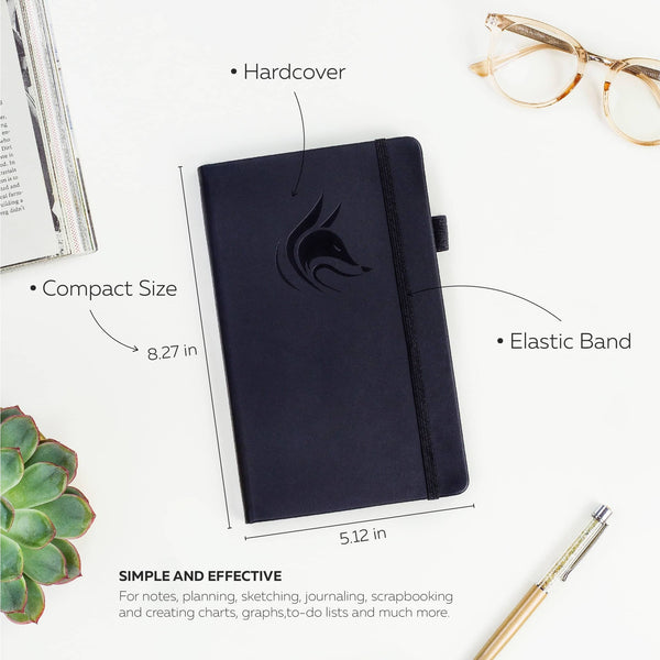 College Ruled Notebook / Journal, Black