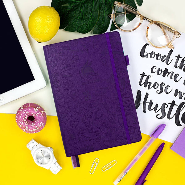 Dotted Journal 2.0, Purple