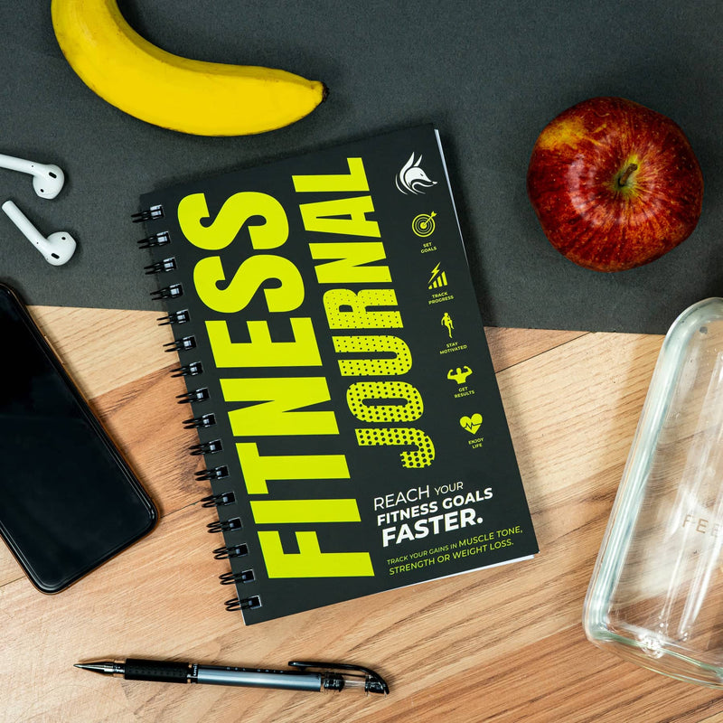 Fitness Journal, Neon Yellow