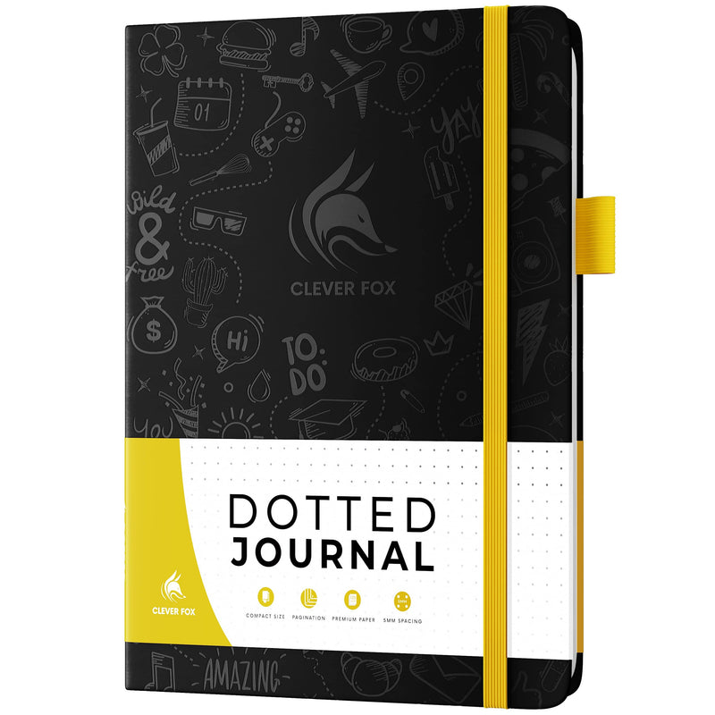 Dotted Journal 2.0, Black