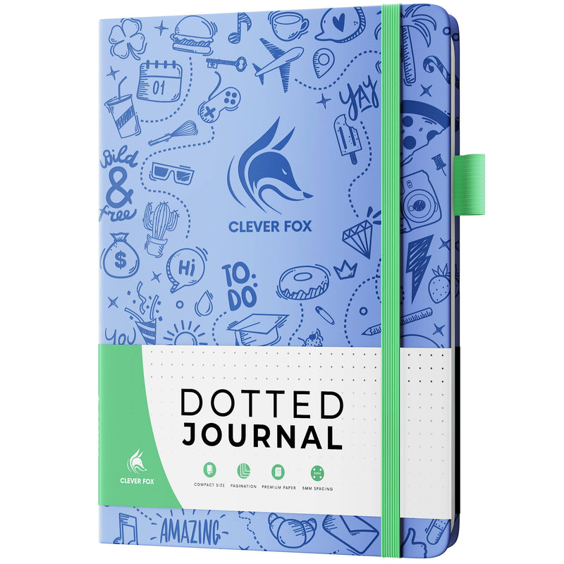 Dotted Journal 2.0, Light Blue