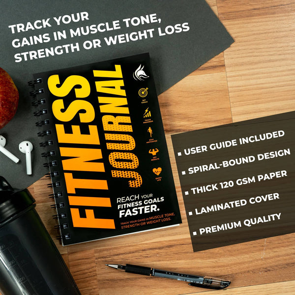 Fitness Journal, Orange