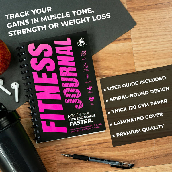 Fitness Journal, Pink