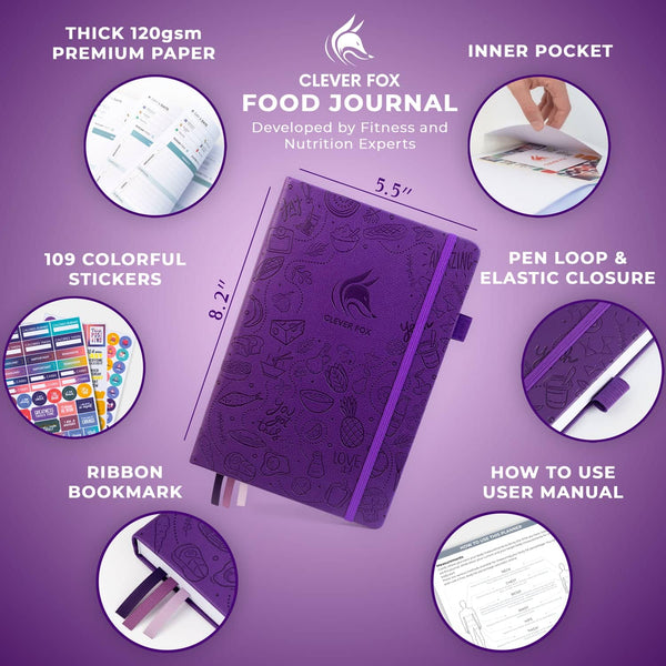 Food Journal, Purple