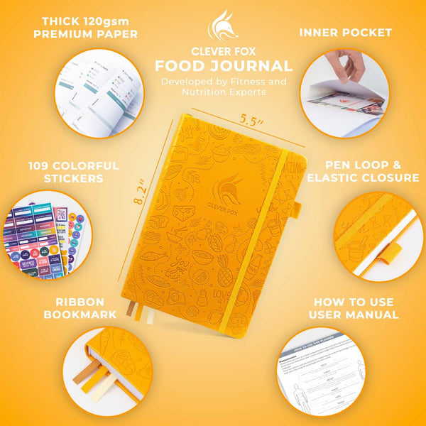Food Journal, Amber Yellow