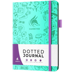 Dotted Journal 2.0, Light Turquoise