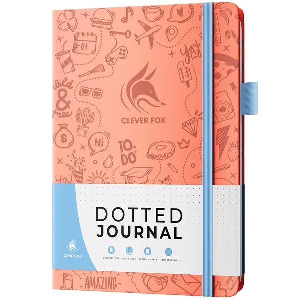 Dotted Journal 2.0, Light Pink