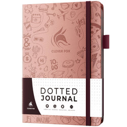 Dotted Journal 2.0, Rose Gold