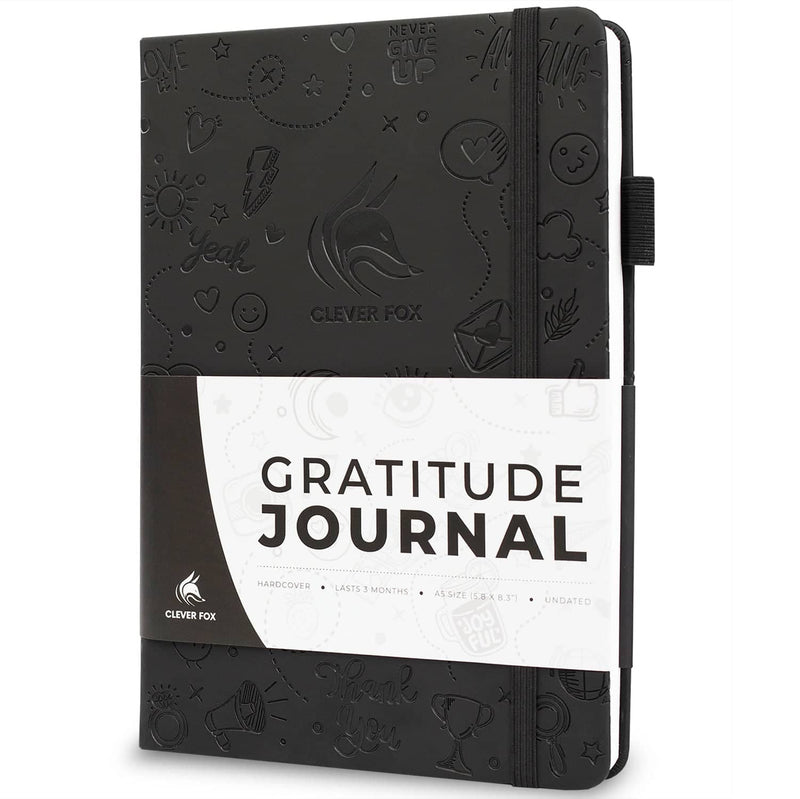 Gratitude Journal, Black