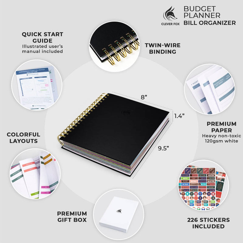 Bill Organizer, Black