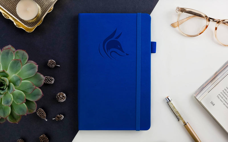 Dotted Grid Notebook/Journal, Royal Blue