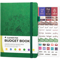 Budget Book, Dark Green