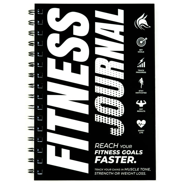 Fitness Journal, Black & White