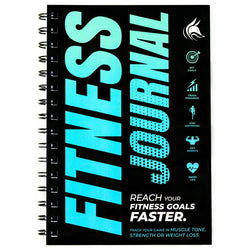 Fitness Journal, Ocean Blue