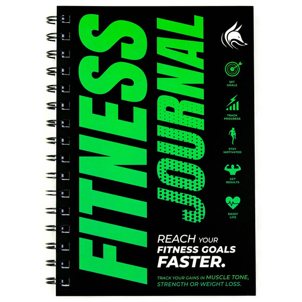 Fitness Journal, Neon Green
