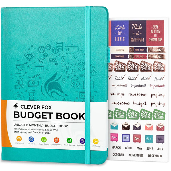 Budget Book, Turquoise