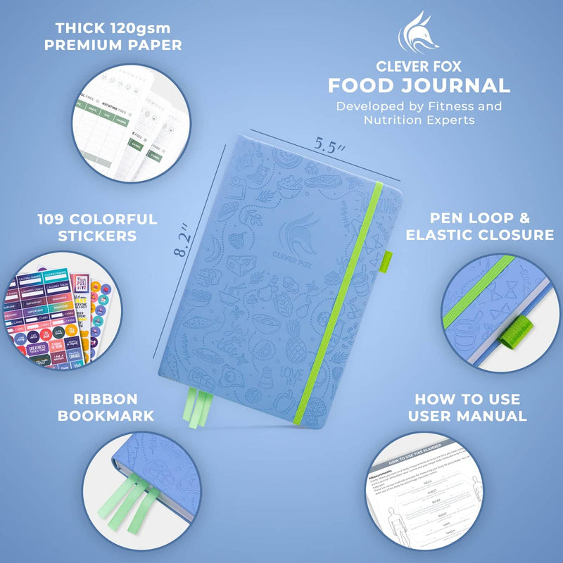 Food Journal, Light Blue