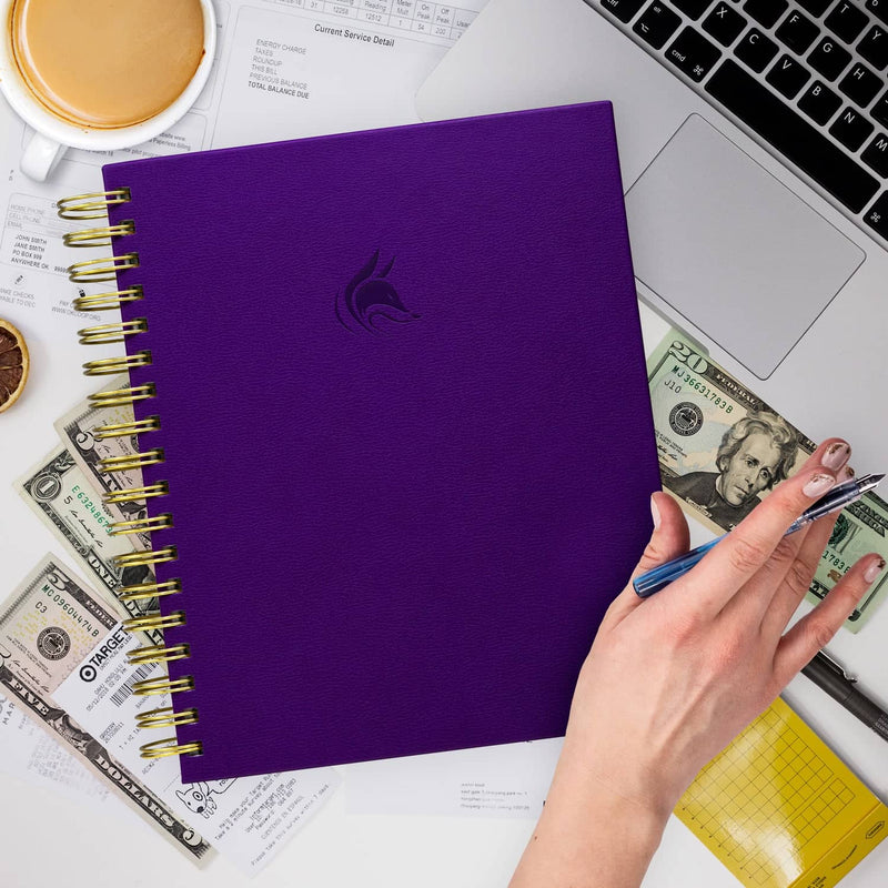 Bill Organizer, Purple