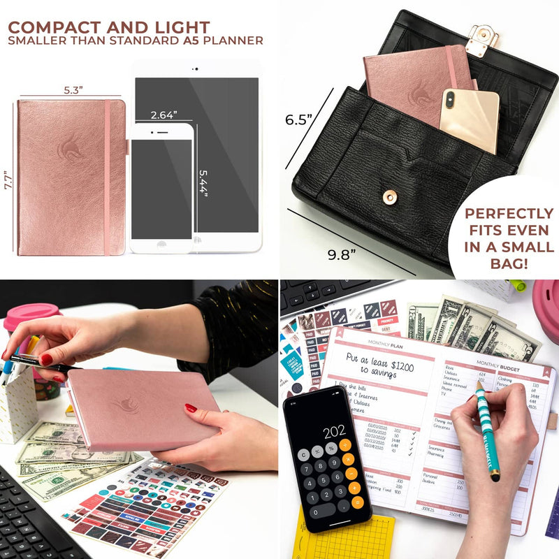 Budget Book 2.0, Rose Gold