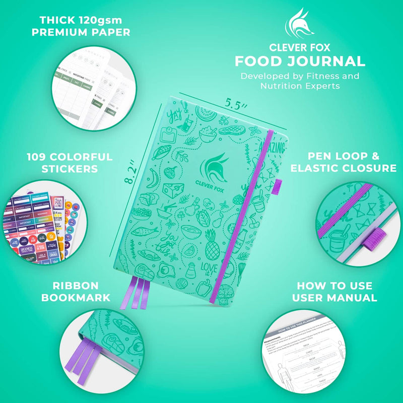 Food Journal, Turquoise