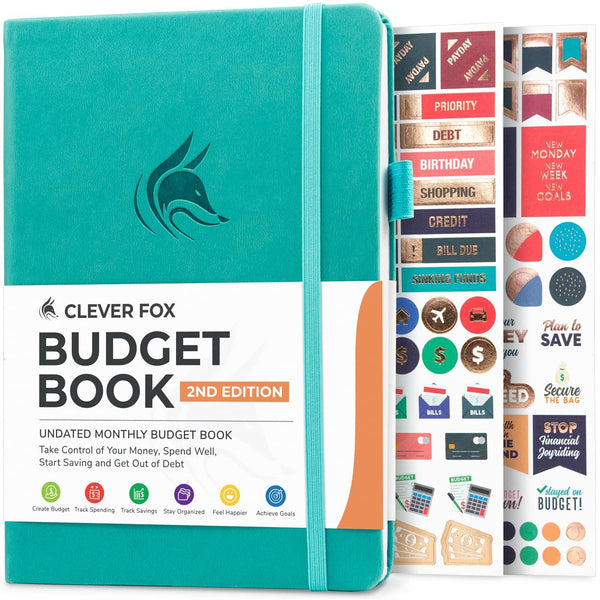 Budget Book 2.0, Turquoise