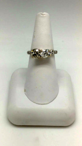 Ladies Vintage Diamond Cocktail Ring
