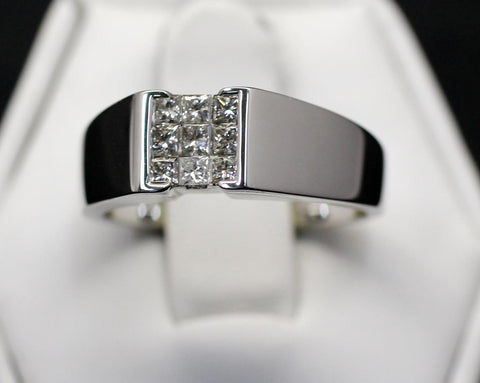 14k .50cttw Diamond Band