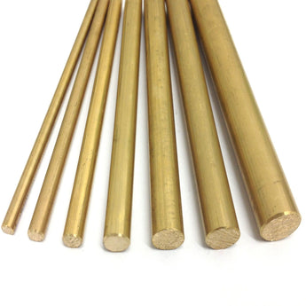 Brass Round Bar CZ121 - Rhino Steels
