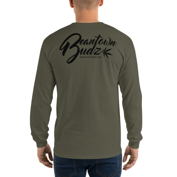 Beantown Pot Leaf City Long Sleeve T-Shirt