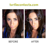 Dual Color Gray Contacts (Pair)