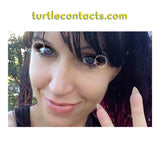 Dual Color Violet Contacts (Pair)