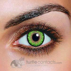 Triple Color Green Contact (90 Day)