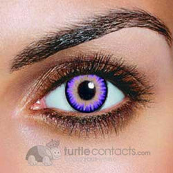 Triple Color Violet Contacts (90 Day)