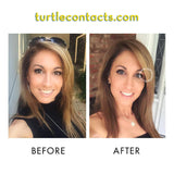 Triple Color Gray Contacts (Pair)